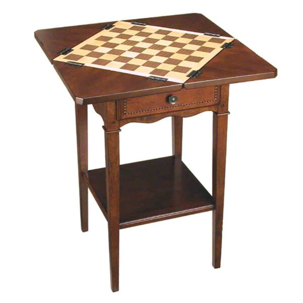 Small Game Table, Available In 2 Finishes