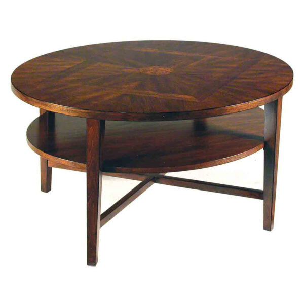 2 Tier Oval Cocktail Table