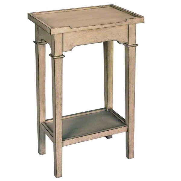 Chairside 2 Tier End Table, Available In 2 Finishes