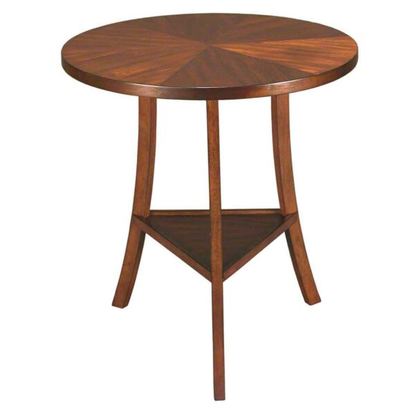 Round three leg table available in 2 finishes Accents  : 1618 M 600x600 from accentsbeyond.com size 600 x 600 jpeg 21kB