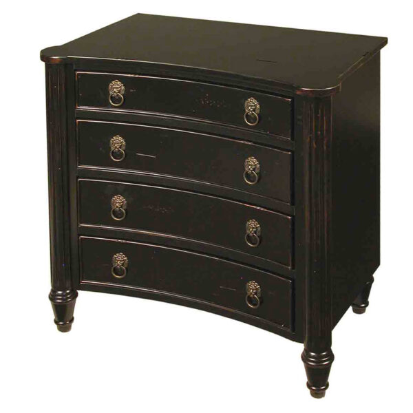 4 Drawer Chest With Lion Head Pulls Available In 2 Finishes